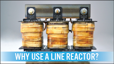 Why should you use a line reactor for How to select vfd for a motor
