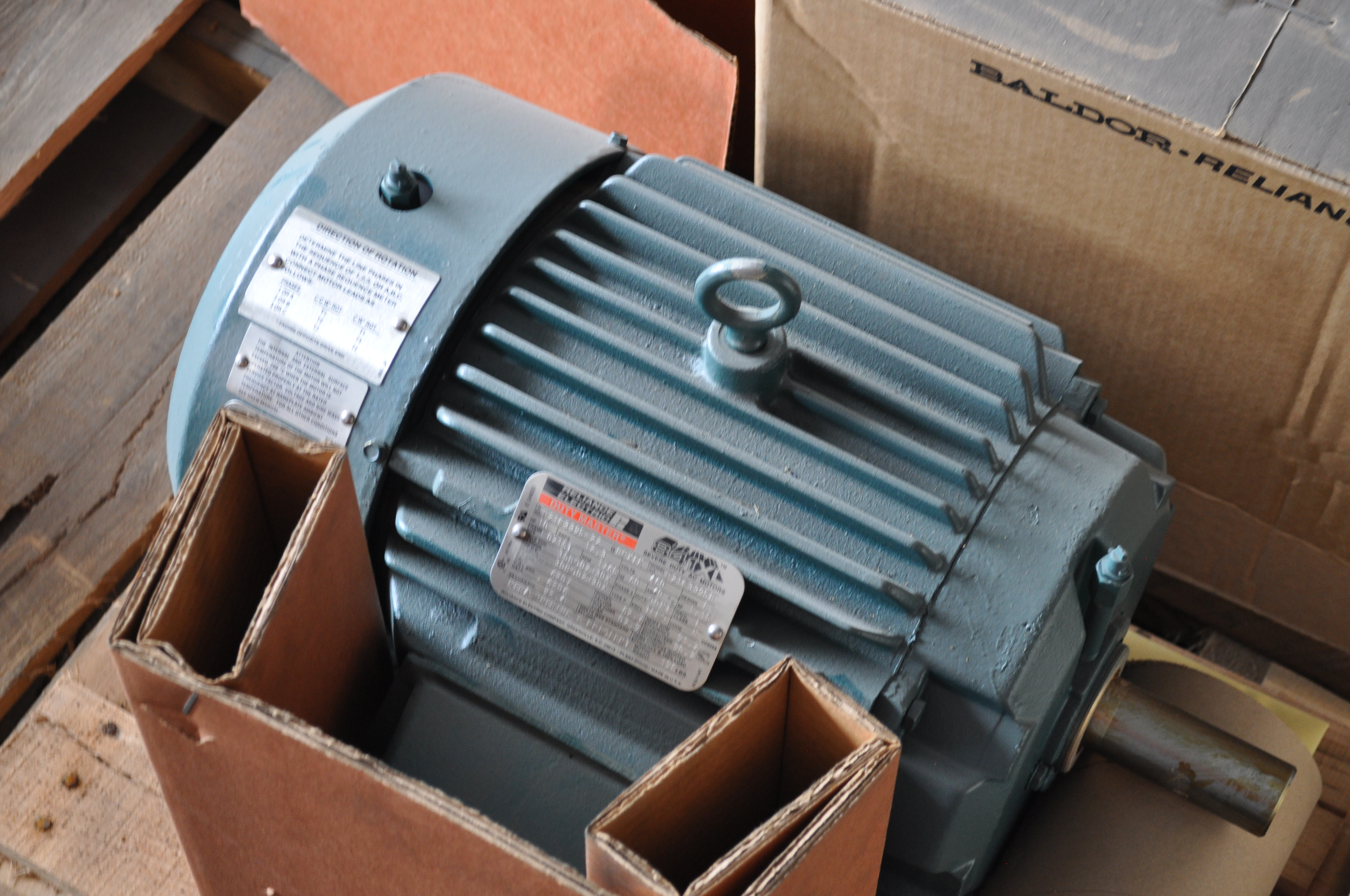 10 Hp 1800 Rpm 460 V Baldor Surplus Electric Motor Motors W5